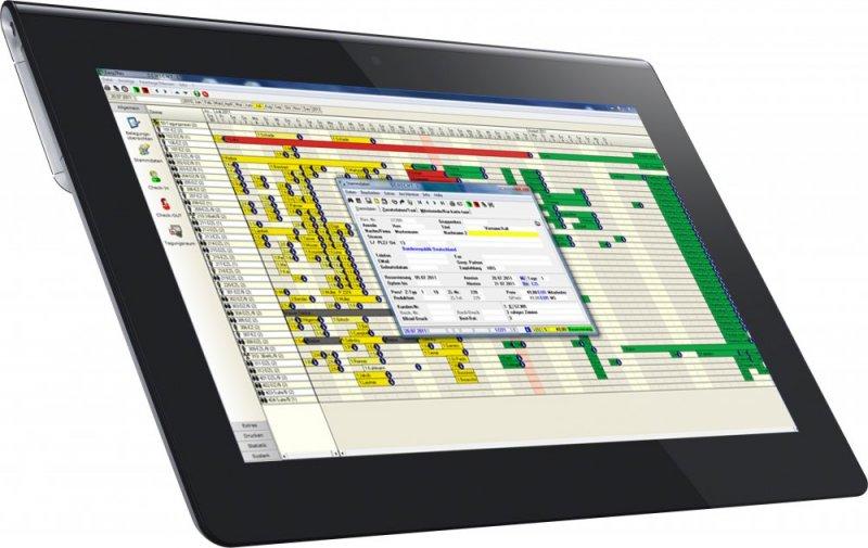 Tablet Belegungsplan Easy2Res